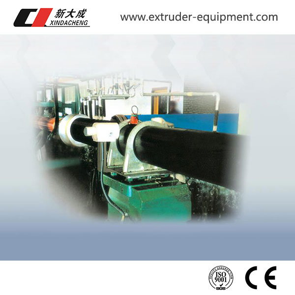 Polyurethane thermal insulation pipe production line Featured Image