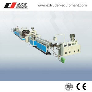 PVC Fiber Enhancing soft pipe Machinery