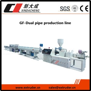 GF-Dual pipe production line