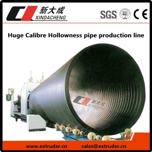 Huge Calibre Hollowness pipe production line