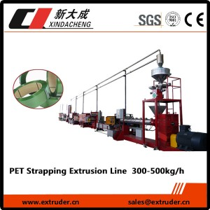 PET / PP strapping Production umugqa (imodeli Heavy)