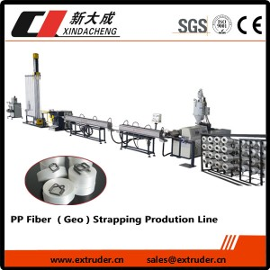 PP Fiber (Geo) strapping Production line