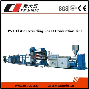 PVC Plstic Extruding Sheet Production Line