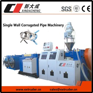 Single wall golfpijp Machinery