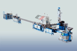 Factory supplied Curve Arrow Dripper - Flat drip irrigation pipe Production line – Xindacheng Plastic