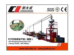 Notification:Xindacheng PET&PP Strapping produciton line Demonstration