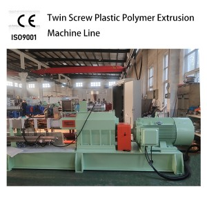 Twin Screw Plastic Extruder 65mm Diameter SHJ Series Production Line