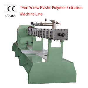 PE PP Twin Screw Plastic Extruder Production Line