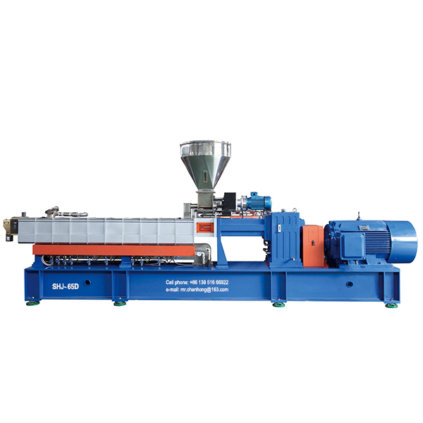 Master batch polymer extrusion machine