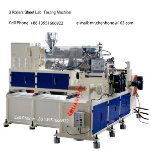 Lab Twin Screw Plastic Polymer extruder Testing Plastic Extrusion Machine