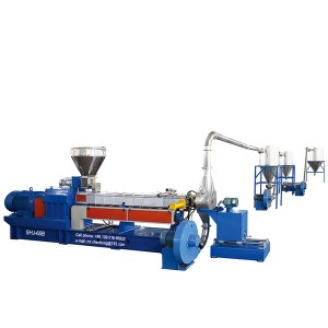 Engineering master batch Twin Screw Plastic Extruder