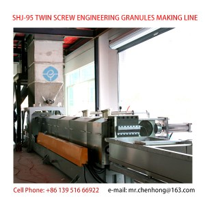 TWIN SCREW ENGINEERING GRANULES MAKING MACHINE LINE