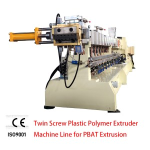 PBAT BIO graanulid Machine SHJ-75D Twin Screw plastpolümeer Extruder