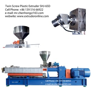 PE PP large capacity Engineering master batch polymer extrusion machine