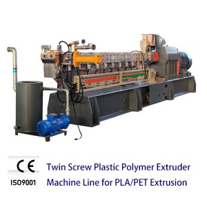 Color Master Batch Machine Twin Screw Plastic Extruder large output capacity