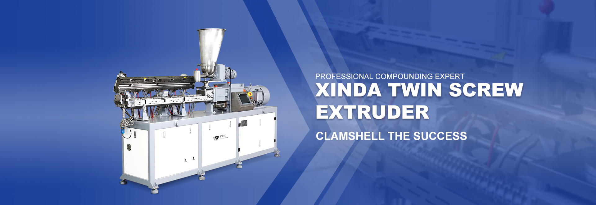 XINDA TWIN SCREW  EXTRUDER