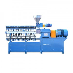 clamshell barrel extruder