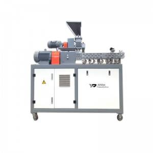 Lab Micro Compounder Twin Screw Extruder 35mm Pelletizing For Masterbatch Testing