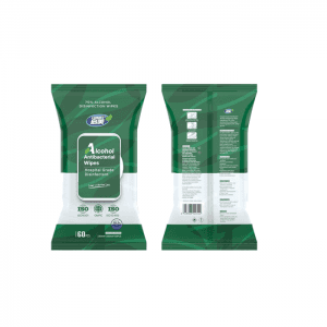 Biodegradable Super Soft Antivirus Cleaning Wet Wipe