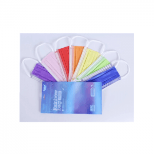 3 Ply Colorful Non Woven Premium Antivirus Medical Face Mask
