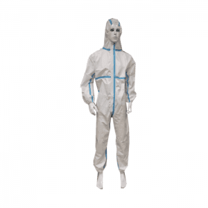 White Disposable Medical Protective Gowns Sterile Isolation Clothing