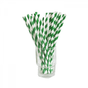 3 Ply Food Contact Paper Bamboo Inflexible Paper Straws Custom