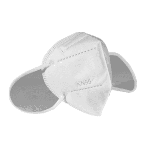 Hot Sale Best Quality White Color 5 Layers Non-woven Disposable Protect KN95 Mask