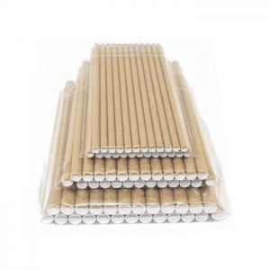 Hot Sale Food Grade Primary Color Biodegradable Paper Straw Custom