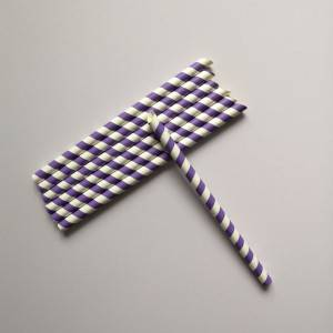 Biodegradable Wholesale Sharp Drinking Paper Straws
