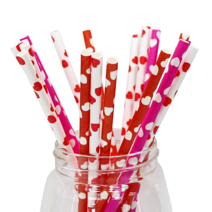 Biodegradable Eco-friendly colorful drinking paper straws Featured Image