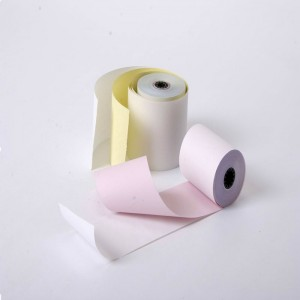 Good Absorbency Of Ink Stable Quality Hot Sale Carbonless Paper
