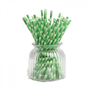Non-Toxic Colorful Eco-Friendly Paper Straw