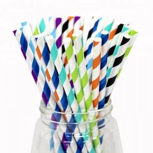 Food Grade New Design Disposable Paper Straw