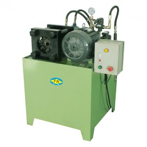 6 Molds Hydraulic Tube-end Shrinking Machine