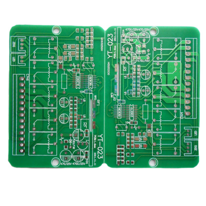 100% Original Factory Fr4 Double Layer Bare PCB -