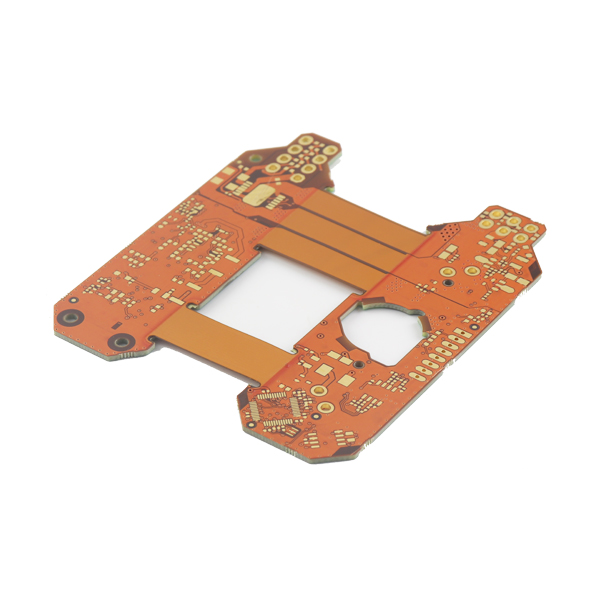 0.1mm Truo Rigidaj -Flexible PCB Estraro por Keypad