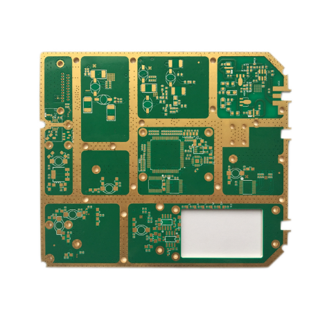 Manufacturer of Integrated Press Hole Rogers PCB -