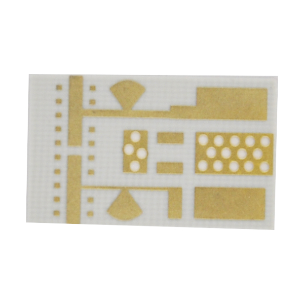 Resin Plug Hole Rogers Single Sided PCB Circuits Board