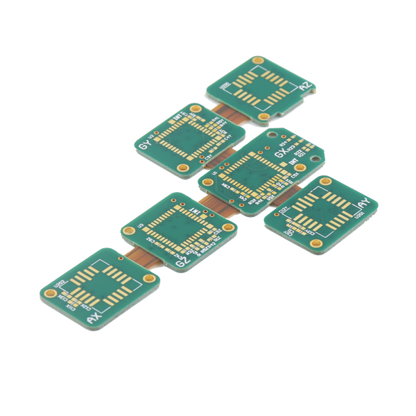 PCB vogël Fabrication Quality High Fabrication ngurtë Flex PCB