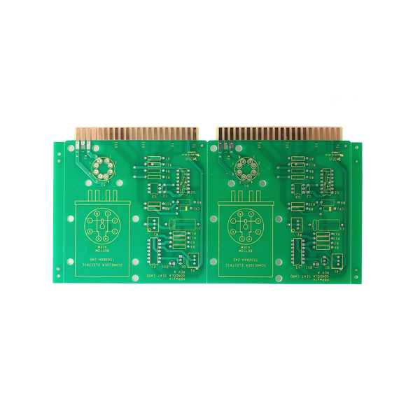 Well-designed 0.1-0.4mm thickness FR4 PCB -