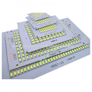 Aluminium Led Light Circuit Board Manufacturing