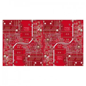 Red HDI Circuit Board PCB