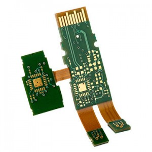 Rigid-Flex Electronic Controlling Board
