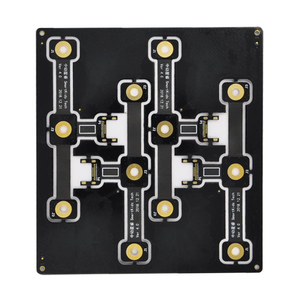 0.15mm Gat PCB Rigiede -Flexible PCB raad vir entoesias