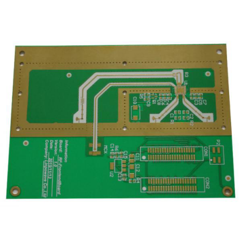 Integrated Matbuot Hole Rogers PCB