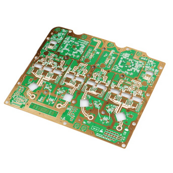 Best Price for Electronic Press Hole Rogers PCB -