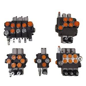 Cheap PriceList for 3 Way Hydraulic Control Valve - P80 monoblock directional valve – Fitexcasting