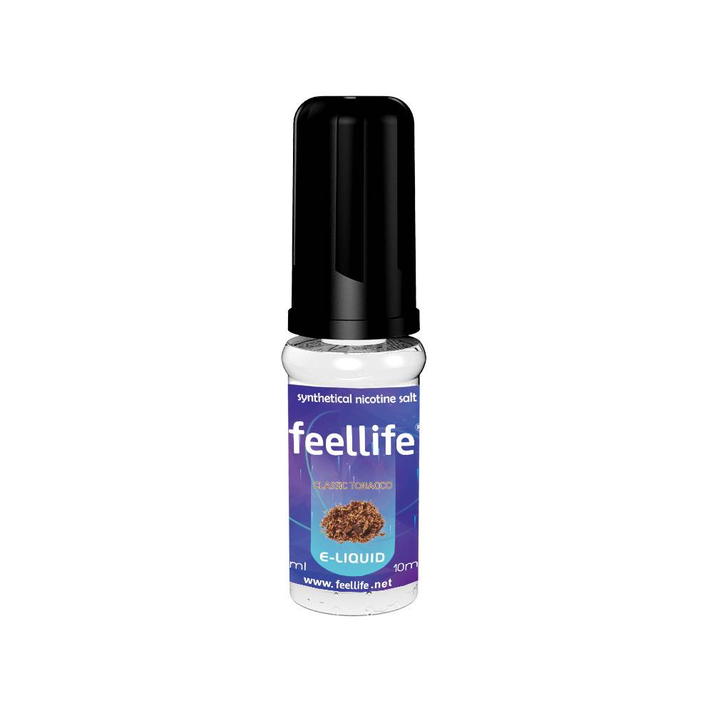 Classic tobacco Synthetic nicotine salt e-liquid Featured Image