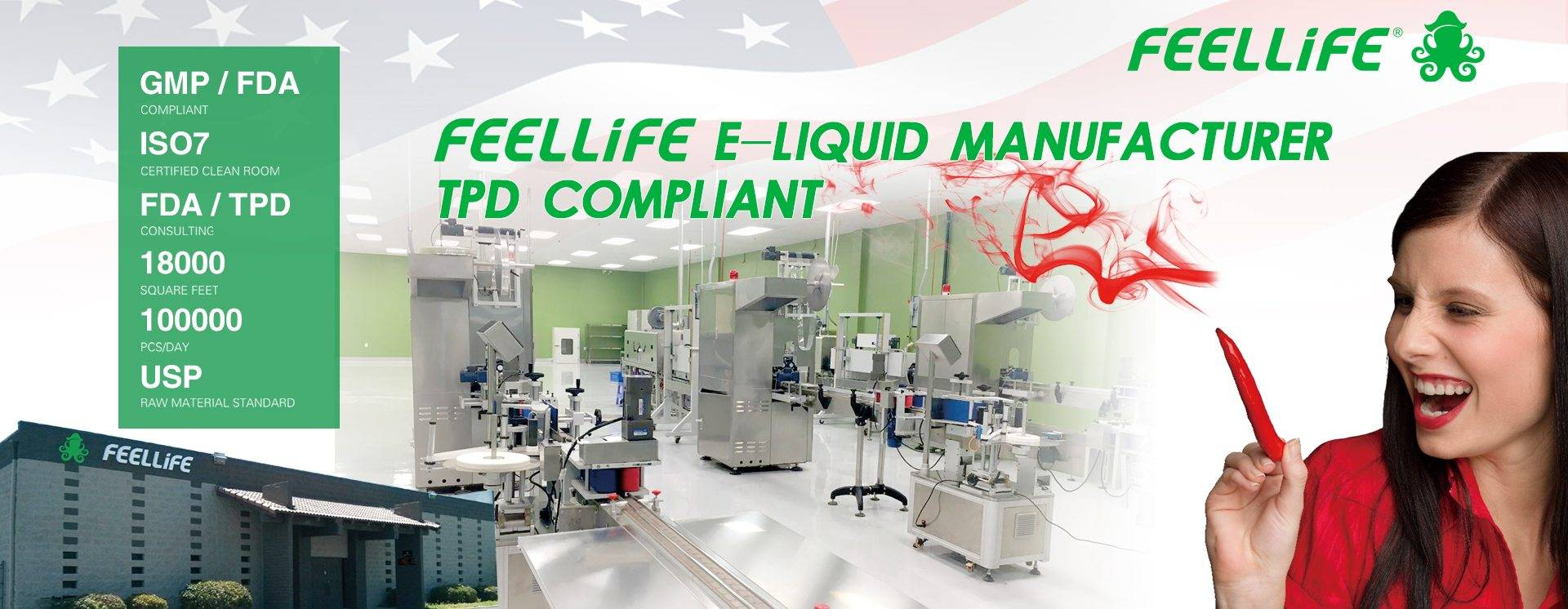 FEELLiFE setting the U.S.A factory based on the purpose of offering short lead time, delivery time and lower freight to customers. The U.S. production and audit standards also give customers greater security and confidence.