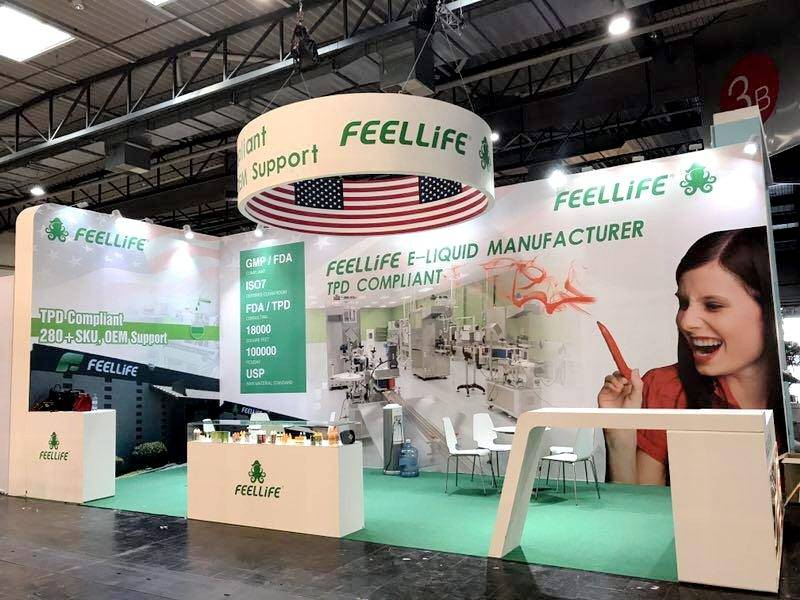 FEELLiFE drew worldwide attention in INTERTABAC 2017, Germany